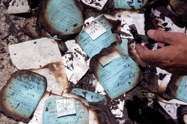 Documentos da Prefeitura de Ubatã foram queimados na zona rural