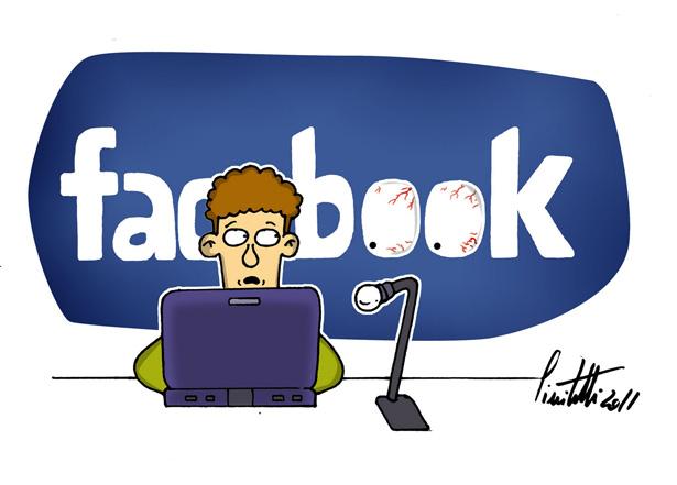 Facebook te deixa mais gordo, pobre e malvado, diz estudo