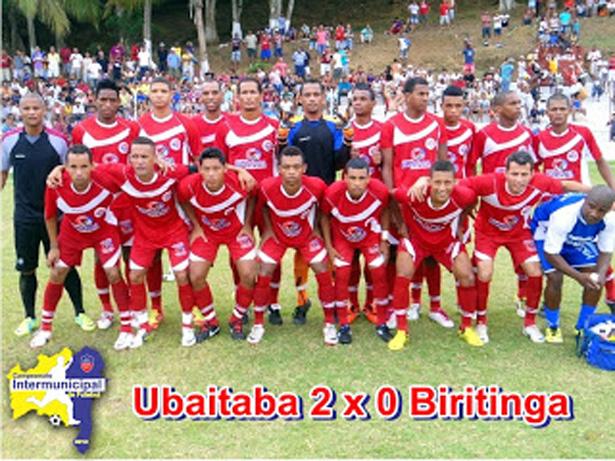 INTERMUNICIPAL 2012: Ubaitaba joga bem vence e se classifica para as quartas de finais