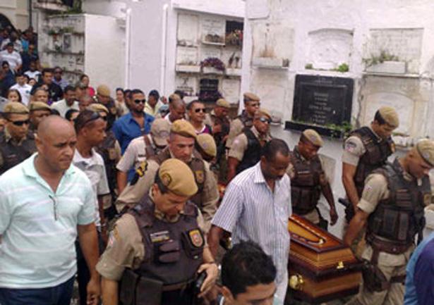 Bahia fica atrás apenas de S. Paulo em número de policiais mortos em 2012