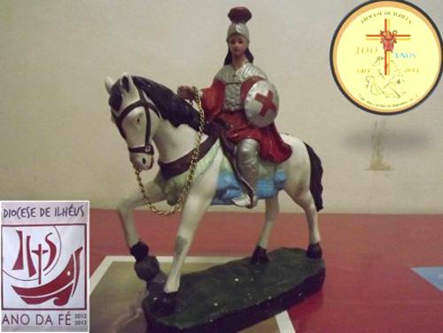 São Jorge fica em Itacaré até sábado (27)