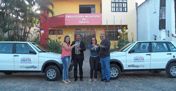 Ubatã: Prefeitura adquire dois veículos para Educação e Saúde do município