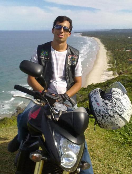 Itacareense sofre grave acidente de moto na Ba 001 que liga Itacaré a Ilhéus.