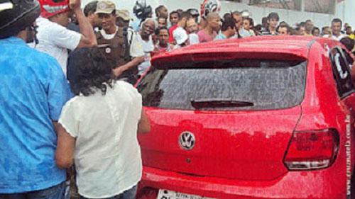 Cigano é morto dentro de carro em Cruz das Almas