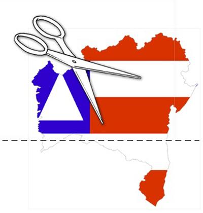 Grupo de Itabuna quer dividir o Estado da Bahia