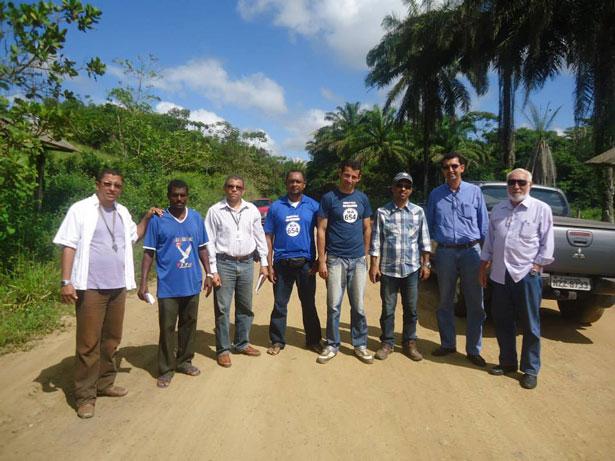Itacaré: MPPT recebe representantes da Campbel e do Derba que iniciaram as obras de pavimentação