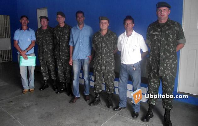 Aurelino Leal: Equipe de inspeção da Juntado Serviço Militar visitou a delegacia
