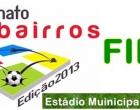 Final do campeonato Interbairros de Futebol acontecerá no próximo domingo (7)