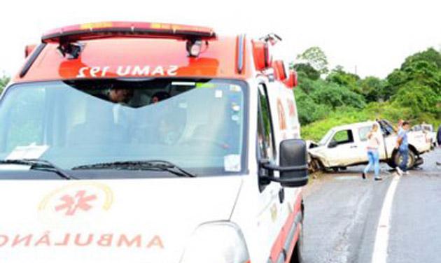 BR-101: Pastor morre e presidente da Câmara de Caetité fica ferido em acidente