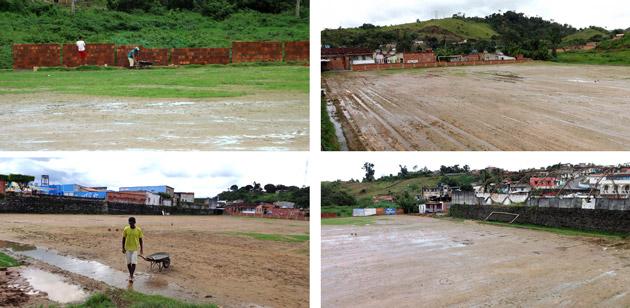 Aurelino Leal: Prefeitura inicia reforma do Estádio Municipal de Futebol Walter Bomfim