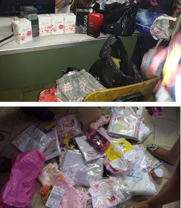 Ipiaú: Mulheres acusadas de furtar 9 lojas no centro da cidade são detidas pela PM