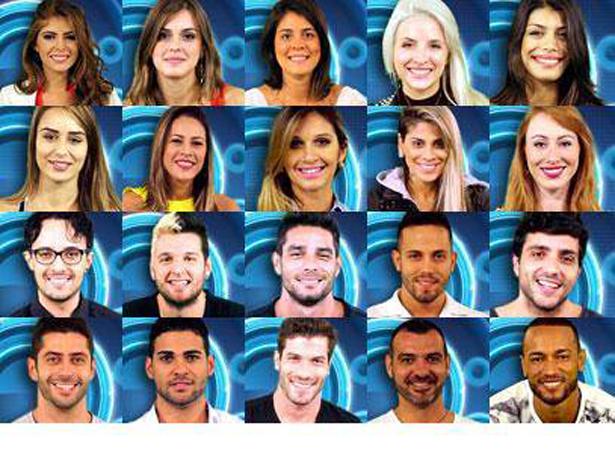 Participantes do BBB 14