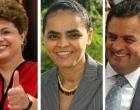 [Eleições 2014] Datafolha mostra Dilma e Marina empatadas com 34%; Aécio tem 15%