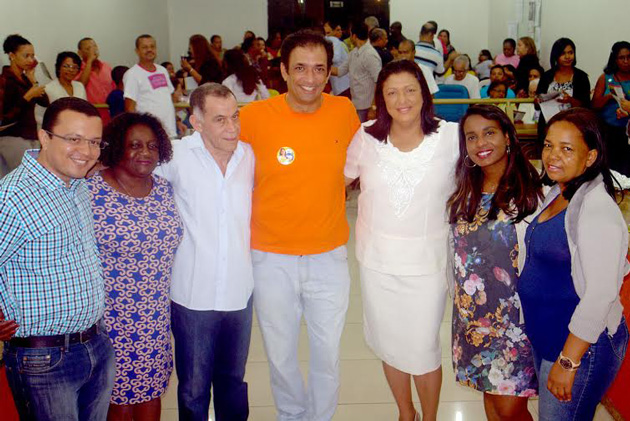 Lideranças confirmam apoio à deputada estadual Ângela Sousa em Ubaitaba.
