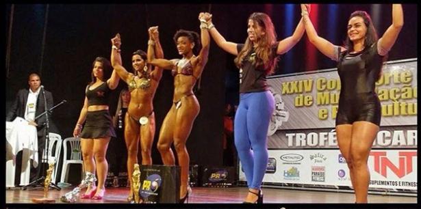 Atleta Ubaitabense leva o primeiro lugar na categoria Bodyfitness em Aracaju-SE