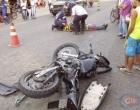 Ipiaú: Colisão entre carro e moto deixa um ferido