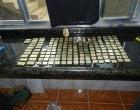 PF apreende 20 kg de ouro de traficante preso em Bangu