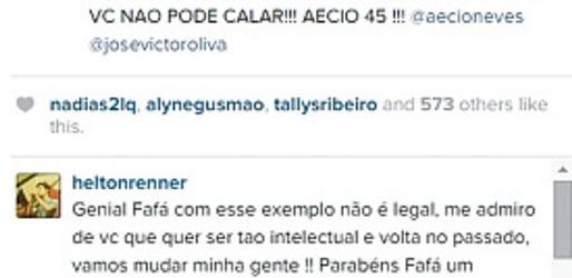 Fafá de Belém acusa prefeitura de Vitória da Conquista de cancelar show por conta de apoio a Aécio