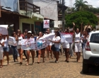 Comunidade realiza a Caminhada da Paz e Mais Segurança em Itacaré
