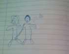 Adolescente faz desenho na escola para denunciar suposto abuso sexual do pai