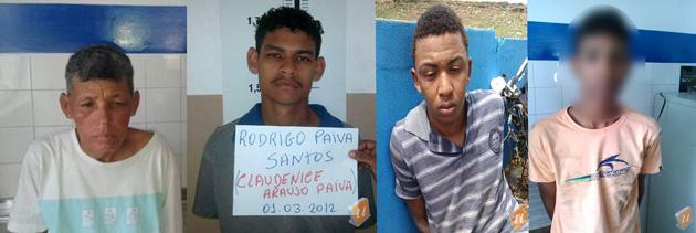 Ubatã: Troca de tiros termina com um morto, quatro presos e três armas apreendidas