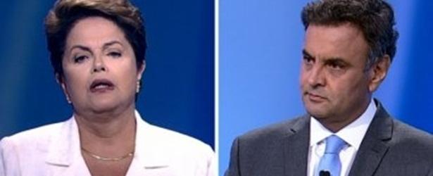 Debate esquenta com propina de Petrobras e fica ameno no final