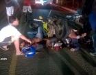 Acidente entre moto e caminhão deixa uma vítima fatal de Itacaré.