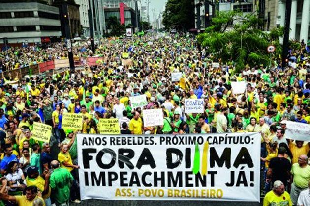 Movimentos vão pedir impeachment de Dilma em atos do dia 12