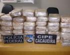 PF apreende 45 quilos de cocaína em Itajuípe