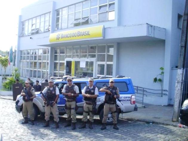 Bandidos furtam R$ 29 mil do Banco do Brasil de Camacan