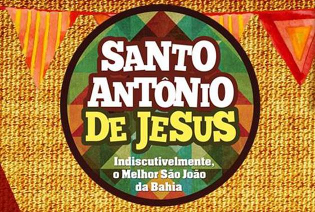 São João Santo Antônio de Jesus 2015 Programação