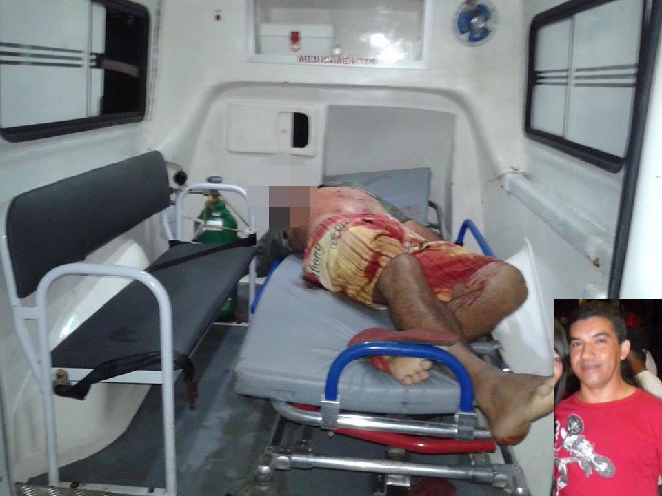 Dim foi morto nas proximidades do Terminal Rodoviário (Foto: Ubatã Notícias)