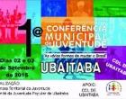 Será realizada em Ubaitaba a I Conferência Municipal de Juventude