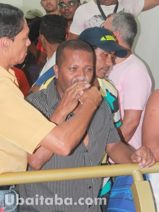 Não adiantou o choro de Tikinho. Foto: Ubaitaba.com