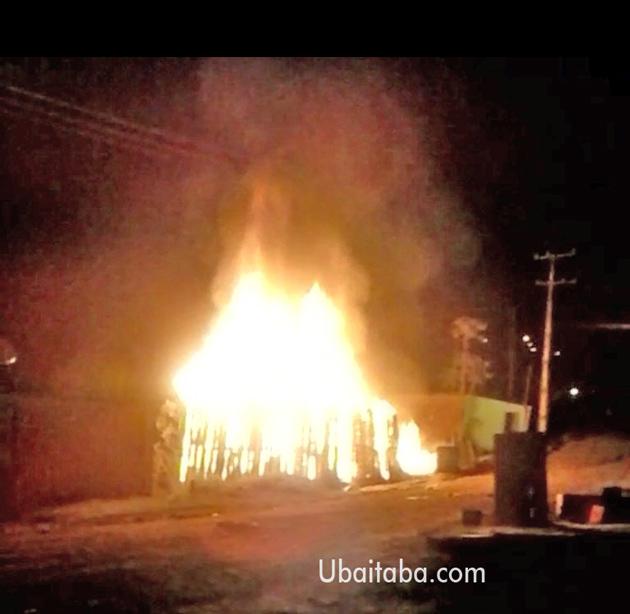 Incêndio destrói casas em Aurelino Leal; Esse é o segundo em 4 dias