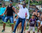 Banda Tsunami grava videoclipe no bairro São Pedro