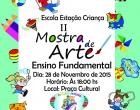 Ubaitaba: Neste sábado (28) a Escola Estação Criaça realizará a II Mostra de Artes