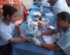 Ubaitaba: Ação social da Unifarma movimento a manhã desta quinta-feira (12)