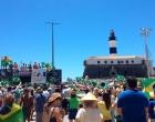 Domingo marcou encolhimento de protestos contra o governo Dilma