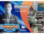 Nesse domingo (07) Marcio Gari o artista plástico conta sua história no Domingo Show.