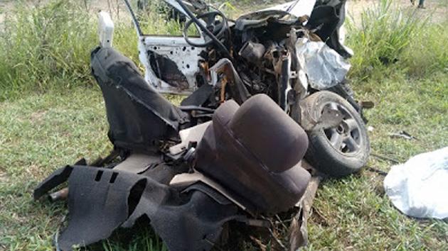 Jequié: Uma pessoa morre e 4 ficam feridas em acidente na BR-116