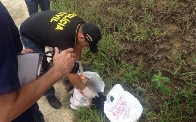 Bebê é encontrado morto dentro de sacola plástica em Duque de Caxias