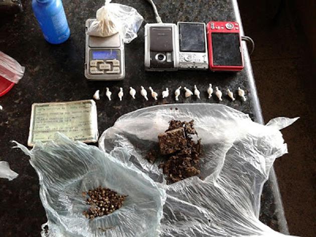 Itagibá: Polícia apreende drogas no distrito do Japomerim