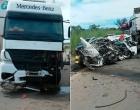 Dois morrem após batida entre carro e caminhão no oeste da Bahia