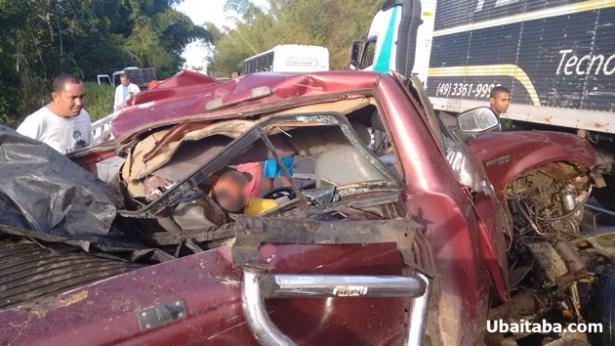 Itajuípe: Acidente grave na BR 101 deixa duas vítimas fatais