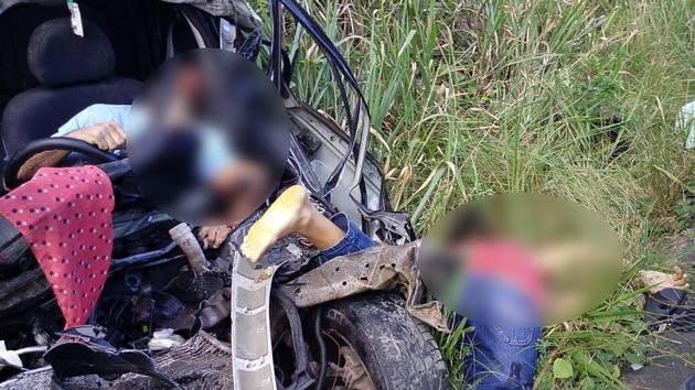 Ibirapitanga: Grave acidente na BR 101 deixa 2 mortos e um ferido