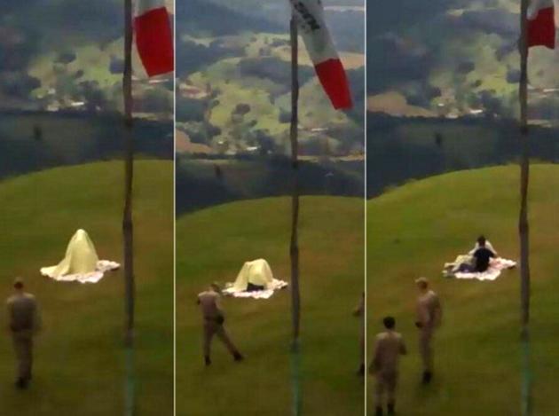 Brasil: Casal faz sexo em ponto turístico e, sem saber, vídeo é transmitido ao vivo na web