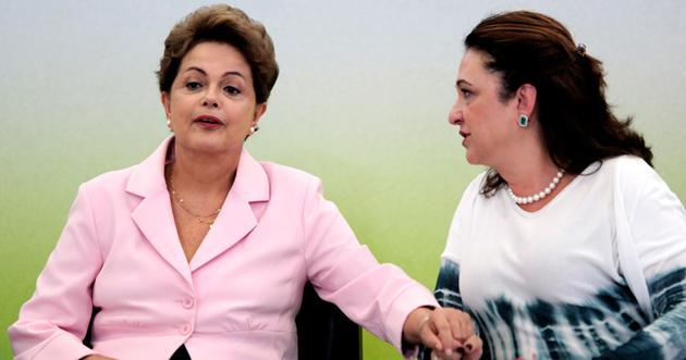 Kátia Abreu muda posição e decide ir ao Senado para defender Dilma