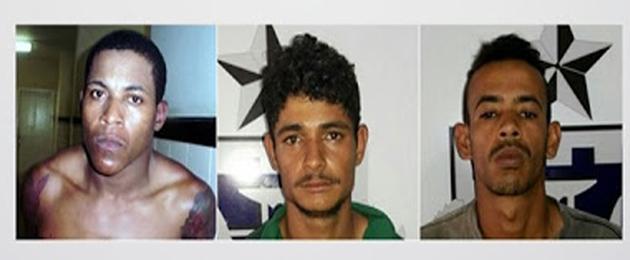 Três fugitivos de presídio de Eunápolis são mortos em confronto com a polícia