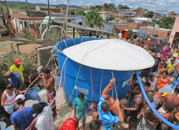 Abastecimento de água é afetado em Itabuna por conta de estiagem